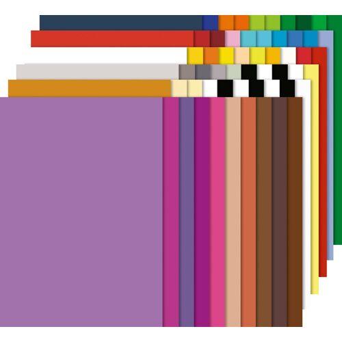 URSUS Papierkarton »Fotokarton-Block Uni«, 60 Blatt