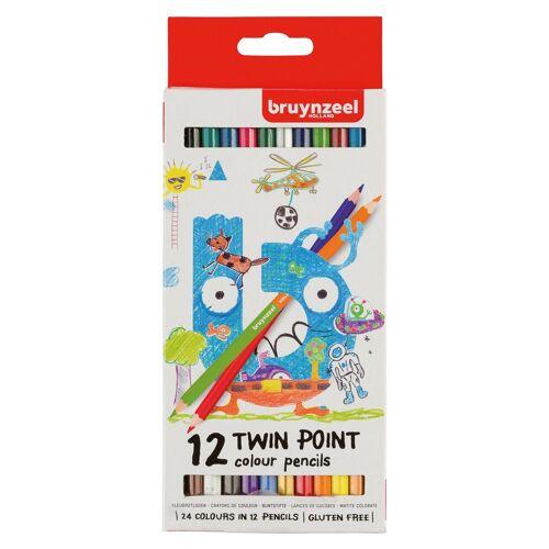 Talens Buntstift »Twin Point«, 12tlg