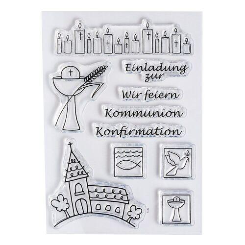 efco Stempel »Kommunion/Konfirmation«, 10 Stück