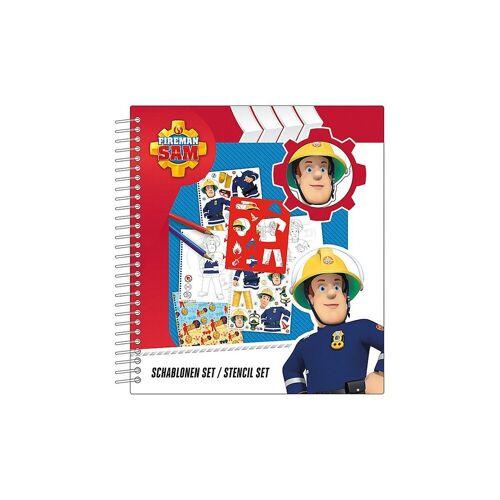 UNDERCOVER Malvorlage »Schablonen Set - Feuerwehrmann Sam«