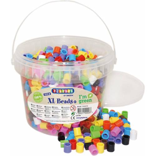 Playbox Bügelperlen »XL-Öko-Bügelperlen, 950 Stück«