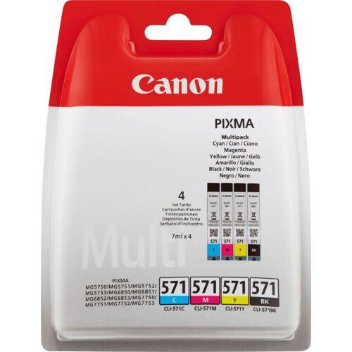 Canon »CLI-571 Tintenpatronen Multipack« Tintenpatrone