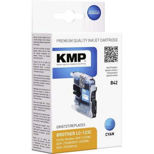 KMP »Tintenpatrone B42 Cyan 1525,0003« Tintenpatrone
