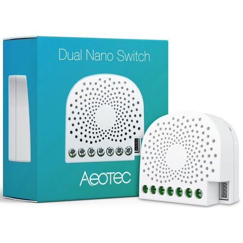 Z-Wave Smart Home Zubehör »2-fach Nano Schalter«, Weiß