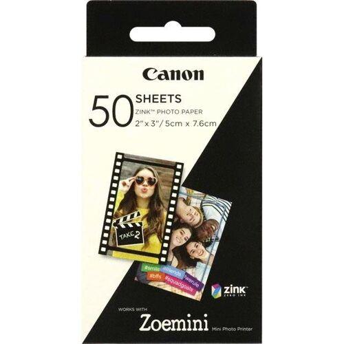 Canon Zink Druckerpapier für Zoemini ZP-2030 - 50 Blatt, weiß