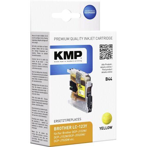 KMP »Tintenpatrone B44 Gelb 1525,0009« Tintenpatrone