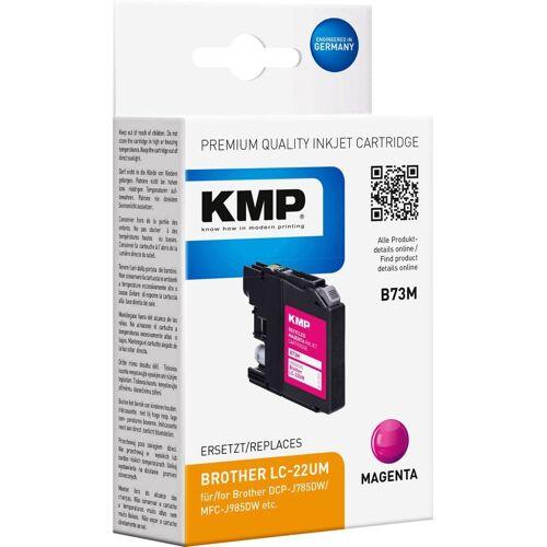 KMP »Druckerpatrone ersetzt Brother LC-22UM Magenta« Tintenpatrone