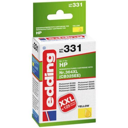 EDDING »EDD-328 HP 364XL Druckerpatrone Gelb« Tintenpatrone