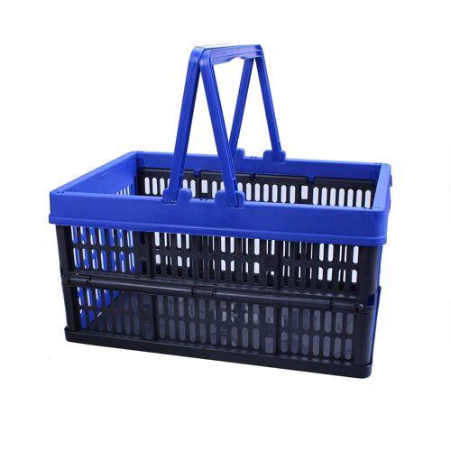 ALPFA Einkaufskorb »16L mit Henkel klappbar Kiste Box Einkaufskiste Einkaufsbox«