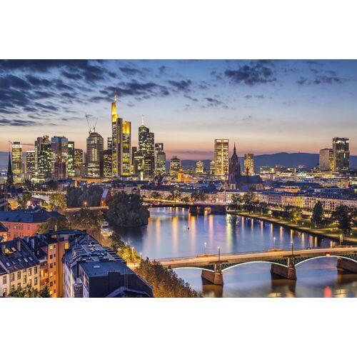 Papermoon Fototapete »Frankfurt am Main«, glatt