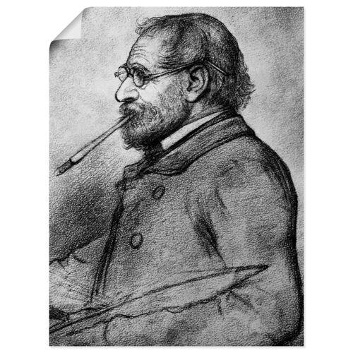 Artland Wandbild »Bleistiftzeichnung«, Mann (1 Stück)