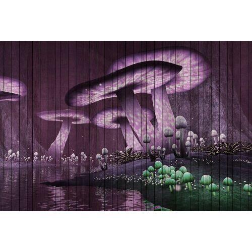 living walls Fototapete »Walls by Patel Fantasy 2«, glatt, (4 St)