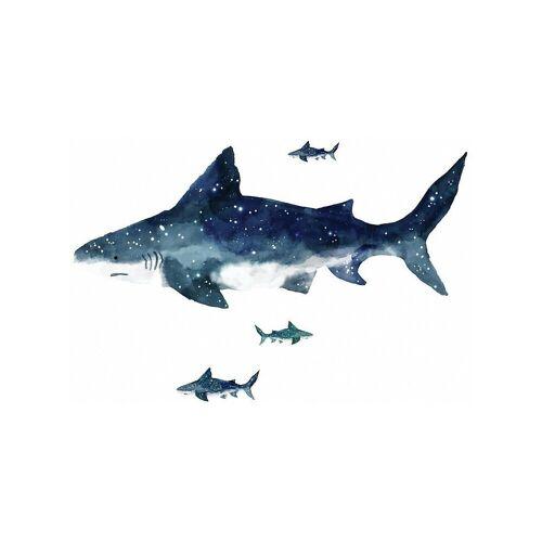 RoomMates Wandsticker »Wandsticker Shark, 6-tlg.«