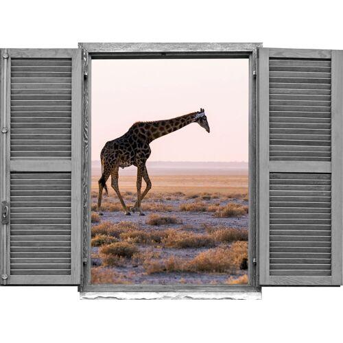 queence Wandtattoo »Giraffe« (1 Stück)