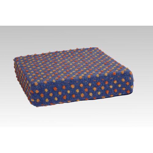 Licardo Sitzkissen »Sitzerhöhung Wolle Noppen blau 40/40/10 cm«