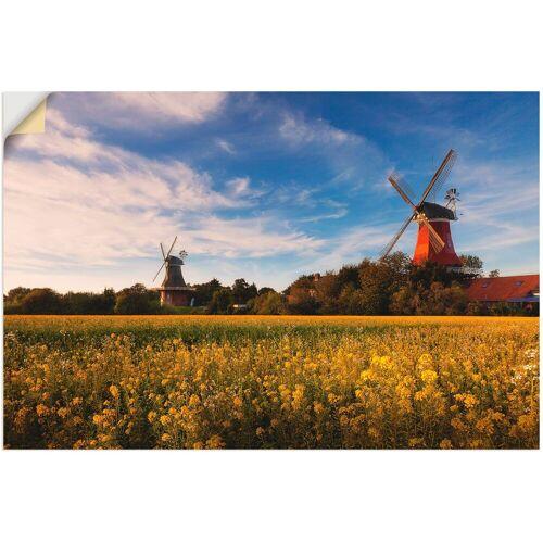Artland Wandbild »Die Mühlen von Greetsiel«, Felder (1 Stück)