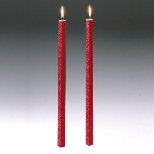 Amabiente Kerzenhalter »Kerze CLASSIC feuerrot 40cm - 2er Set«