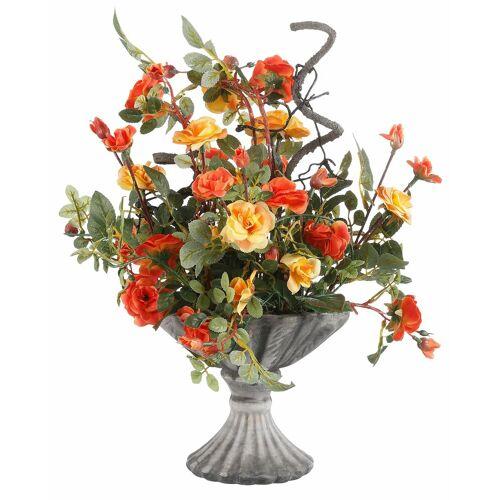 Home affaire Kunstpflanze »Wildrosen« Wildröschen, , Höhe 41 cm, orange