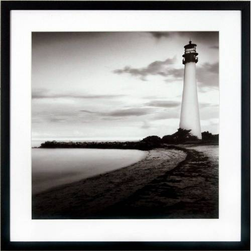 G&C Kunstdruck »Levy: Beach Motiv 1«, 50/50 cm, gerahmt