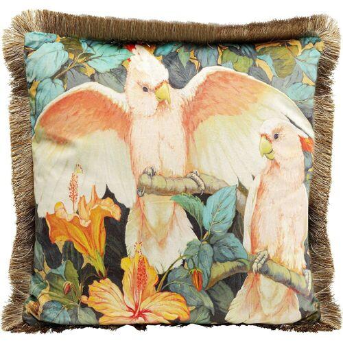 KARE Dekokissen »Kissen Parrots Life 45x45cm«
