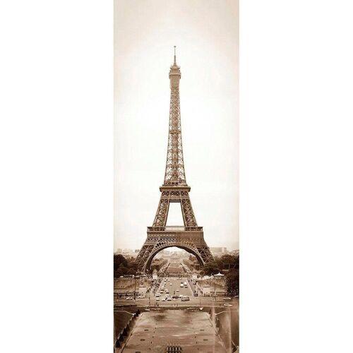 living walls Fototapete »Eiffelturm Paris«, glatt, (1 St), FSC®