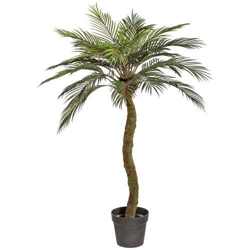 Creativ green Kunstpalme »Sagopalme« Palme, , Höhe 120 cm, im Kunststofftopf