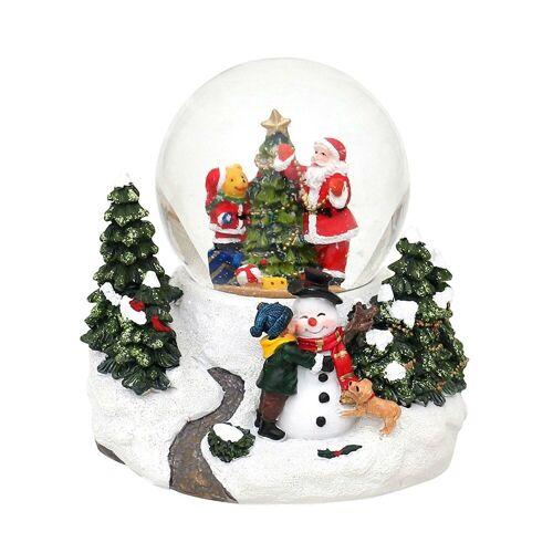 SIGRO Schneekugel »Schneekugel Santa Bär«