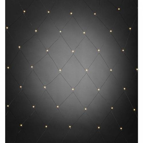 KONSTSMIDE Lichtervorhang »3679-107 LED-Lichternetz 80 LEDs«