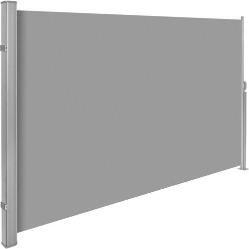 tectake Seitenarmmarkise »Aluminium Seitenmarkise«, grau