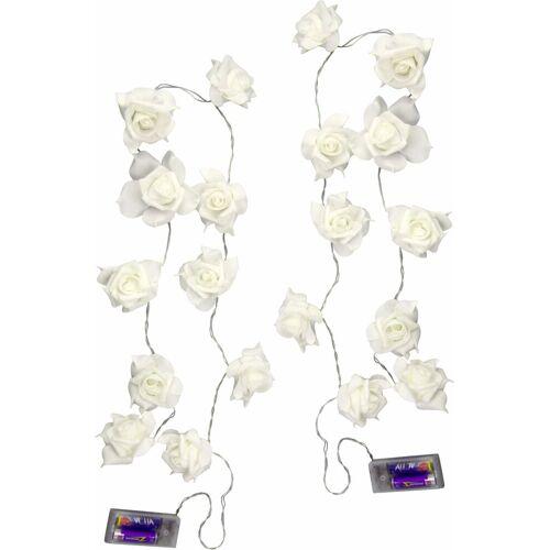 I.GE.A. LED-Lichterkette, weiß