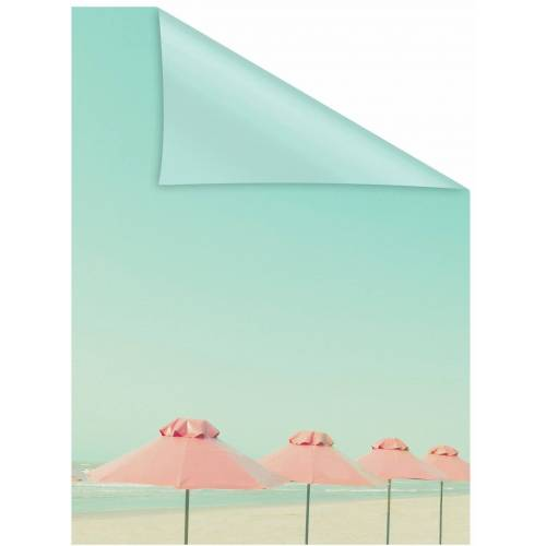 LICHTBLICK Fensterfolie »Sonnenschirme«, , blickdicht, strukturiert, selbstklebend, Sichtschutz
