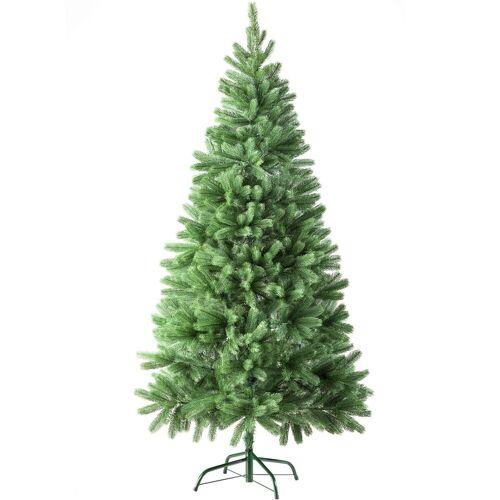 tectake Künstlicher Weihnachtsbaum »Künstlicher Weihnachtsbaum«, 742 Spitzen und Spritzguss-Nadeln grün