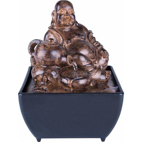 Home affaire Brunnen »Buddha«, schwarz