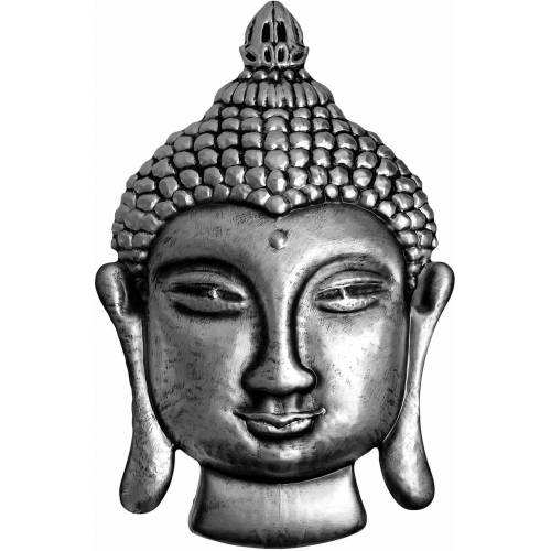 ART Wall-Art Wandtattoo »Metallic Buddha«