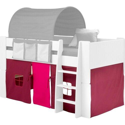 STEENS Vorhang »FOR KIDS«, , Bindebänder (3 Stück), für die Halbhochbetten, pink