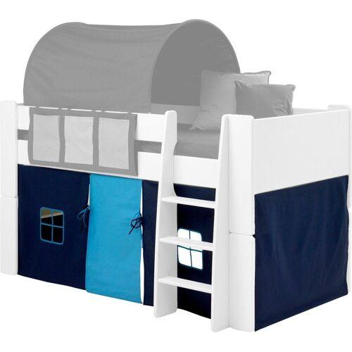 STEENS Vorhang »FOR KIDS«, , Bindebänder (3 Stück), für die Halbhochbetten, blau