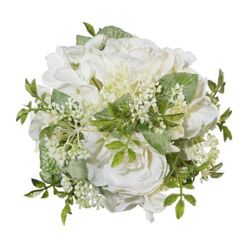 Creativ green Kunstblume Kunstblume, , Höhe 15 cm, weiß