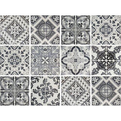 Fliesenaufkleber »Muster I« (Set, 12 Stück)