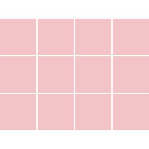 Fliesenaufkleber, rosa