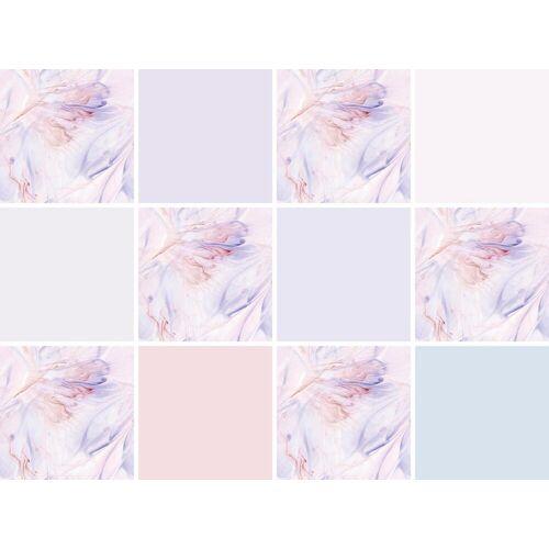 Fliesenaufkleber »Blumen«