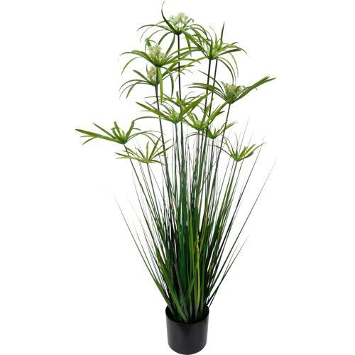 Kunstpflanze »Zyperngras im Topf«, Höhe 120 cm