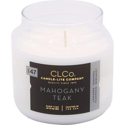 Candle-lite™ Duftkerze »No. 47, CLCo - Mahogany Teak« (1-tlg)