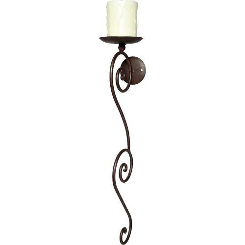 Ambiente Haus Kerzenhalter, Höhe 58 cm, Kerzen-Wandleuchter, Kerzenhalter, Kerzenleuchter hängend, Wanddeko