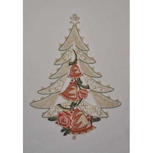 Stickereien Plauen Fensterbild »Weihnachtsbaum«