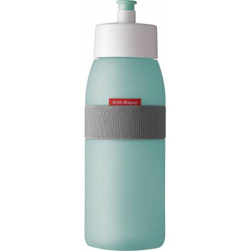 Mepal Trinkflasche »PE-Trinkflasche ellipse lime, 500 ml«
