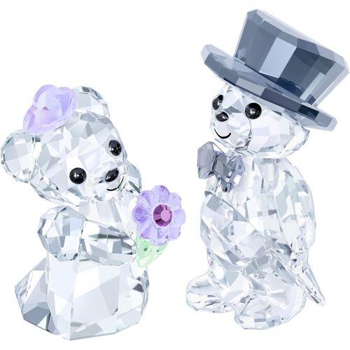 Swarovski Dekofigur »KRIS BEAR - YOU & I, 1096736« (2 Stück), ® Kristall