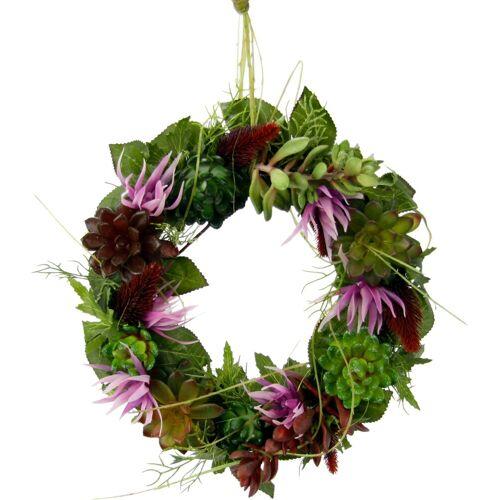 I.GE.A. Kunstpflanze Succulente/Protea, , Höhe 8 cm