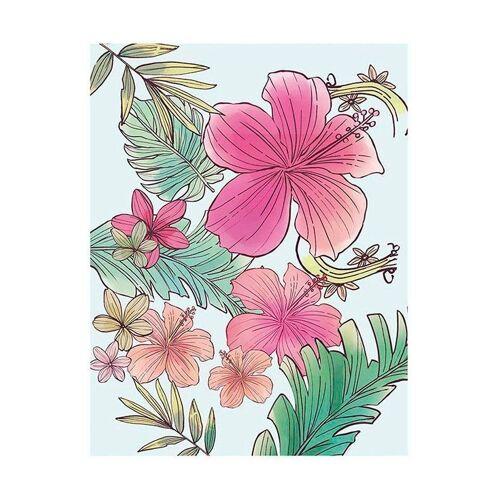 Komar XXL Poster »Ariel Flowers«, bunt