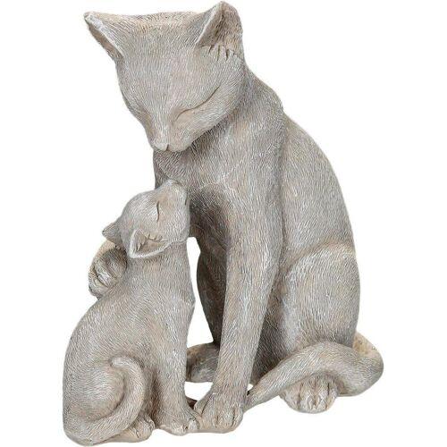 Ambiente Haus Dekofigur »Katzen mit Kätzchen«, Höhe 14 cm