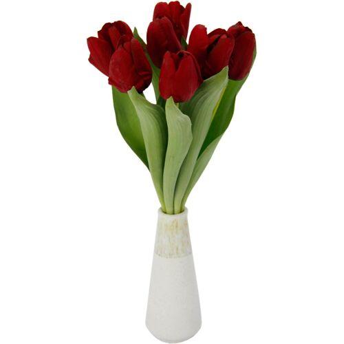 Kunstpflanze, Höhe 38 cm, rot
